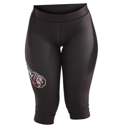 Black Capris dragon do apparel, dragon do, sports bras, fight shorts, mma shorts, spats, compression pants, compression gear, vale tudos, womens mma, wmma, mma, fitness, crossfit, gym, training