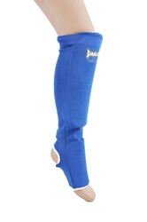 Elastic Shin Insteps - Blue Shin Insteps,  shin guard, Dragon Do Shin Instep, Shin Guards for MMA, Muay Thai