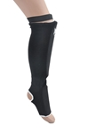 Elastic Shin Insteps Black Shin Insteps,  shin guard, Dragon Do Shin Instep, Shin Guards for MMA, Muay Thai