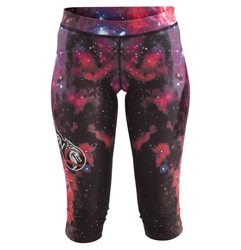 Galaxy Capris dragon do apparel, dragon do, sports bras, fight shorts, mma shorts, spats, compression pants, compression gear, vale tudos, womens mma, wmma, mma, fitness, crossfit, gym, training