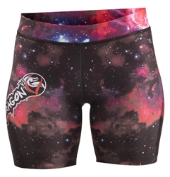 Galaxy Womens Vale Tudos dragon do apparel, dragon do, sports bras, fight shorts, mma shorts, spats, compression pants, compression gear, vale tudos, womens mma, wmma, mma, fitness, crossfit, gym, training