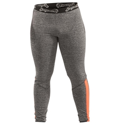 Gray/Orange Mens Spats dragon do apparel, dragon do, sports bras, fight shorts, mma shorts, spats, compression pants, compression gear, vale tudos, womens mma, wmma, mma, fitness, crossfit, gym, training
