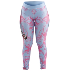 Happy Womens Spats dragon do apparel, dragon do, sports bras, fight shorts, mma shorts, spats, compression pants, compression gear, vale tudos, womens mma, wmma, mma, fitness, crossfit, gym, training