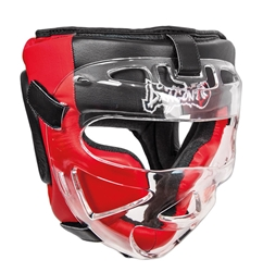 Leather Head Guard with Face Shield dragon do head guard, head gear, training gear, protective gear, mouth guard, body guard, women chest protector, breast guard, training equipment, boxing, martial arts, mouth guards,  face shield