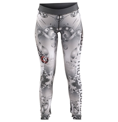 Metallic JTY Womens Spats dragon do apparel, dragon do, sports bras, fight shorts, mma shorts, spats, compression pants, compression gear, vale tudos, womens mma, wmma, mma, fitness, crossfit, gym, training