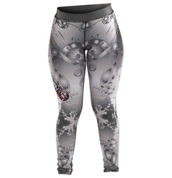 Metallic Womens Spats dragon do apparel, dragon do, sports bras, fight shorts, mma shorts, spats, compression pants, compression gear, vale tudos, womens mma, wmma, mma, fitness, crossfit, gym, training
