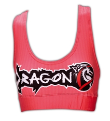 Peach Sports Bra dragon do apparel, dragon do, sports bras, fight shorts, mma shorts, spats, compression pants, compression gear, vale tudos, womens mma, wmma, mma, fitness, crossfit, gym, training