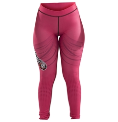 Sunset Womens Spats dragon do apparel, dragon do, sports bras, fight shorts, mma shorts, spats, compression pants, compression gear, vale tudos, womens mma, wmma, mma, fitness, crossfit, gym, training