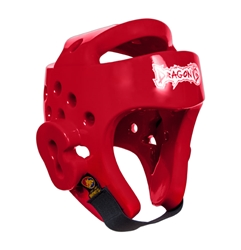 Taekwondo Headgear - Red Taekwondo Headgear, taekwondo, protection, face protection, taekwondo headgear