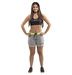 Women's Gym Shorts - GYMPLNGY-GN-S