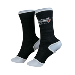 Black Ankle Supports dragon do, ankle supports, ankle braces, ankle support socks, groin guard, steel groin guard, cup protector, groin protector,  hand wraps, gel gloves, quick gel hand wraps, gel hand wraps, boxing gloves, training gloves, sparring gloves, fitness, boxing, mma, jiu jitsu, bjj, training equipment, kick boxing, muay thai, muaythai, cardio boxing, cardio, aerobics, punching bags, protective equipment, hand wraps, elastic shin in steps, shin guards, elastic shin guards, shin in steps, mexican hand wraps, elastic hand wraps
