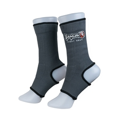 Gray Ankle Supports dragon do, ankle supports, ankle braces, ankle support socks, groin guard, steel groin guard, cup protector, groin protector,  hand wraps, gel gloves, quick gel hand wraps, gel hand wraps, boxing gloves, training gloves, sparring gloves, fitness, boxing, mma, jiu jitsu, bjj, training equipment, kick boxing, muay thai, muaythai, cardio boxing, cardio, aerobics, punching bags, protective equipment, hand wraps, elastic shin in steps, shin guards, elastic shin guards, shin in steps, mexican hand wraps, elastic hand wraps