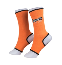 Orange Ankle Supports dragon do, ankle supports, ankle braces, ankle support socks, groin guard, steel groin guard, cup protector, groin protector,  hand wraps, gel gloves, quick gel hand wraps, gel hand wraps, boxing gloves, training gloves, sparring gloves, fitness, boxing, mma, jiu jitsu, bjj, training equipment, kick boxing, muay thai, muaythai, cardio boxing, cardio, aerobics, punching bags, protective equipment, hand wraps, elastic shin in steps, shin guards, elastic shin guards, shin in steps, mexican hand wraps, elastic hand wraps