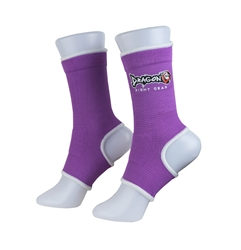 Purple Ankle Supports dragon do, ankle supports, ankle braces, ankle support socks, groin guard, steel groin guard, cup protector, groin protector,  hand wraps, gel gloves, quick gel hand wraps, gel hand wraps, boxing gloves, training gloves, sparring gloves, fitness, boxing, mma, jiu jitsu, bjj, training equipment, kick boxing, muay thai, muaythai, cardio boxing, cardio, aerobics, punching bags, protective equipment, hand wraps, elastic shin in steps, shin guards, elastic shin guards, shin in steps, mexican hand wraps, elastic hand wraps