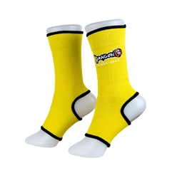 Yellow Ankle Supports dragon do, ankle supports, ankle braces, ankle support socks, wholesale fight gear,hand wraps, gel gloves, quick gel hand wraps, boxing gloves, fitness, boxing, mma, jiu jitsu, bjj, training equipment, kickboxing, muay thai, muaythai, cardio boxing, protective equipment, shin guards, elastic shin guards, shin in steps,