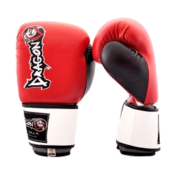 Grand Leather Boxing Gloves - Red boxing, boxing gloves, sparring, sparring gloves, training gloves, MMA, gym gloves
