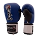 Grand Leather Boxing Gloves - Blue - BXGRL-BL-12