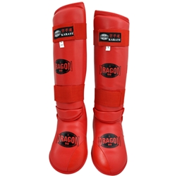 Karate Shin Instep - Red